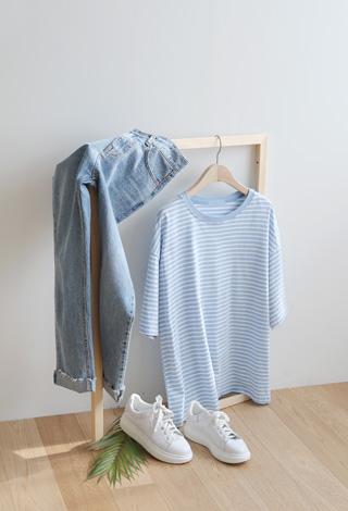 [P] 온모던 반팔 티셔츠 P_T6530